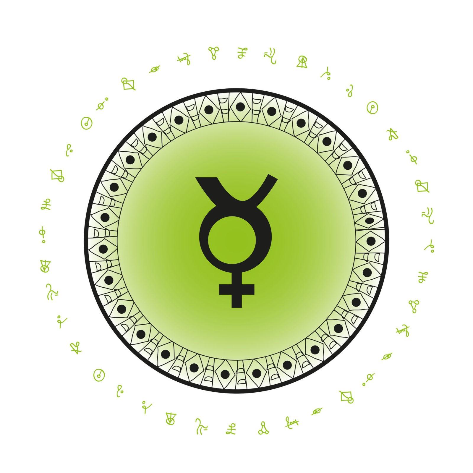 Меркурий и углы гороскопа