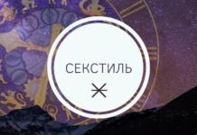 Секстиль в астрологии